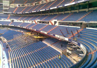 Ampliación Estadio Santiago Bernabéu, Madrid