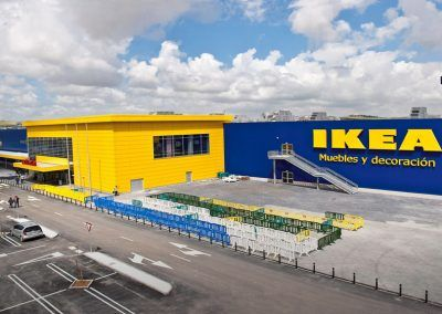 C.C. IKEA, postesado