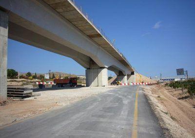 Viaducto Baladres, modificación