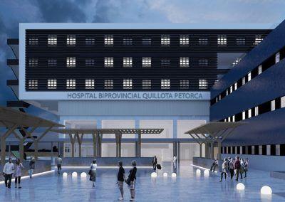 Hospital Quillota Petorca, Chile