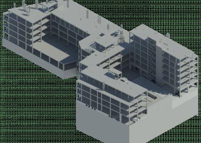 Edificio Nieremberg, 14, Madrid, reestructuración