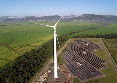 Prototipo Eólico Aliança, Brasil