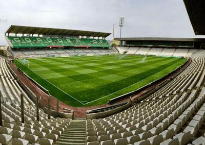 Estadio de fútbol en Lucena